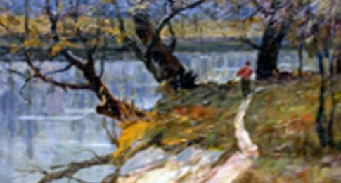 Russian impressionist painting