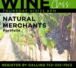 Wine Class | June | Natural Merchants Portfolio
